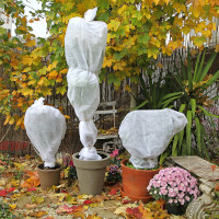 Frostschutzhaube Frostschutzvlies Vlies-Schutzhaube für Pflanzen weiß 55cmx75cm
