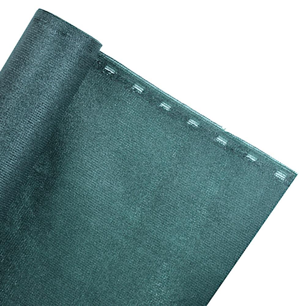 ZAUNBLENDE 85% 2m Breite Sichtblende Schattiernetz grün (Meterware)