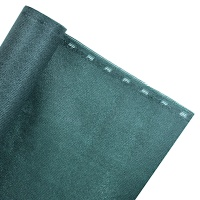 ZAUNBLENDE 85% 1,5m Breite Sichtblende Schattiernetz grün (Meterware)