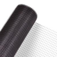 Maulwurfnetz 2m Br. Meterware schwarz/braun Rollrasen Maulwurfschutz Gartennetz