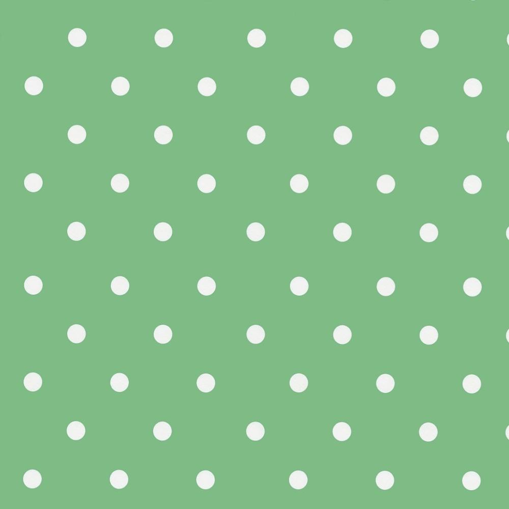 Wachstuchtischdecke Dots vintage mint 1,4m Br. Punkte Wachstuch Meterware