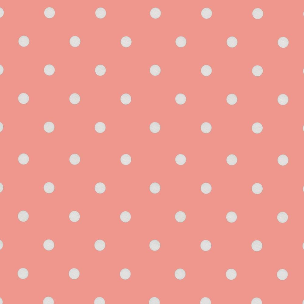 """Wachstuch Tischdecke """"Dots vintage pink"""" in 1,4m Breite Meterware"""