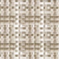 """Wachstuch Tischdecke """"Basket weave nickel"""" Leinen-Struktur 1,4m Br."""