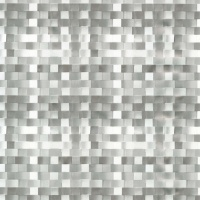 """Wachstuch Tischdecke """"Basket weave silber"""" Leinen-Struktur 1,4m Br."""