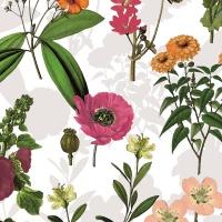 """Wachstuch Tischdecke """"Bouquet"""" in 1,4m Breite Meterware"""