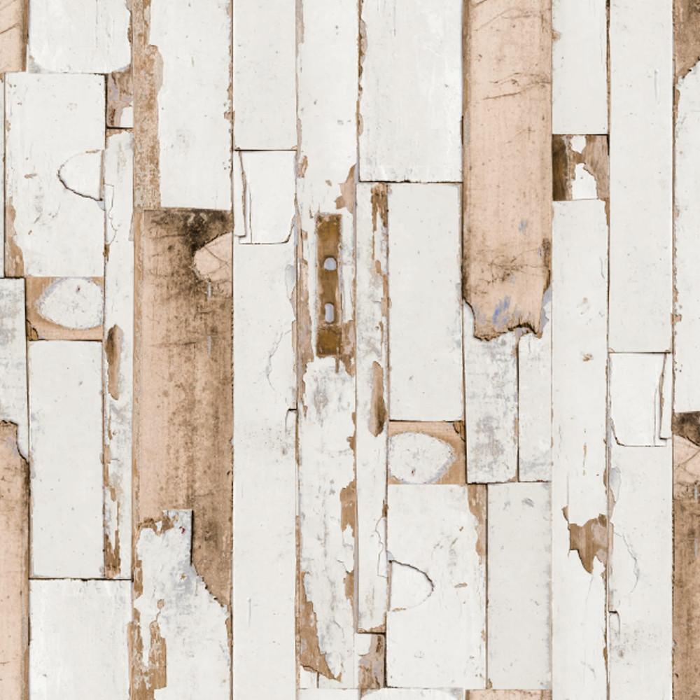 """Wachstuchtischdecke """"Door"""" Wachstuch 1,4m Br. Holz beige braun Meterware"""
