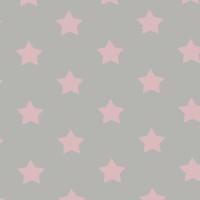 """Wachstuch Tischdecke """"Stern pink"""" in 1,4m Breite Meterware"""