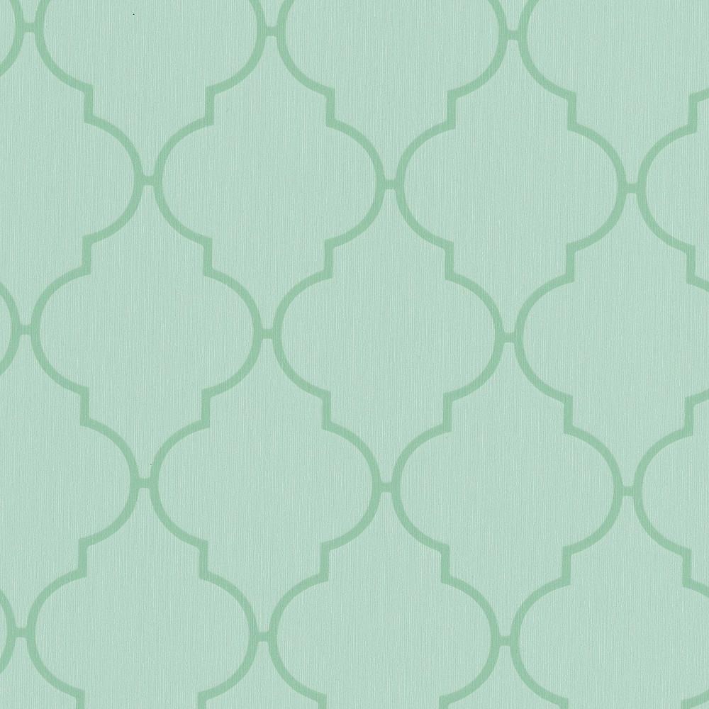 Wachstuchtischdecke Dunya grün mint 1,4m Br. Wachstuch Tischdecke Meterware