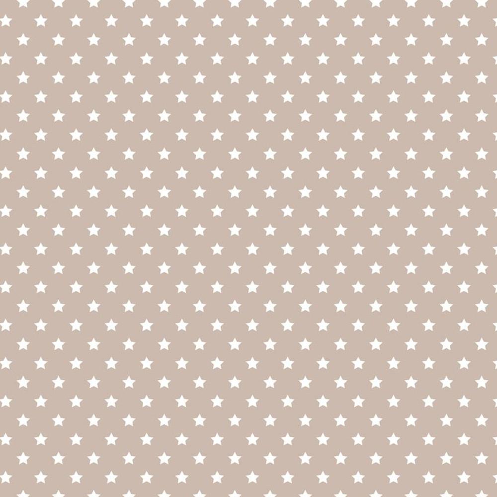 """Wachstuchtischdecke """"Sterne"""" 1,4m Br. Sterne beige Wachstuch Meterware"""