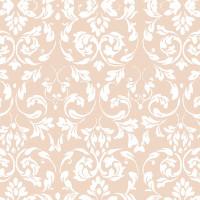 Wachstuchtischdecke Amalia Ranken Barock rosa Wachstuch 1,4m Br. Meterware