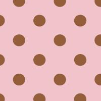 Wachstuchtischdecke Josephine Punkte rosa Kupfer Wachstuch 1,4m Br. Meterware