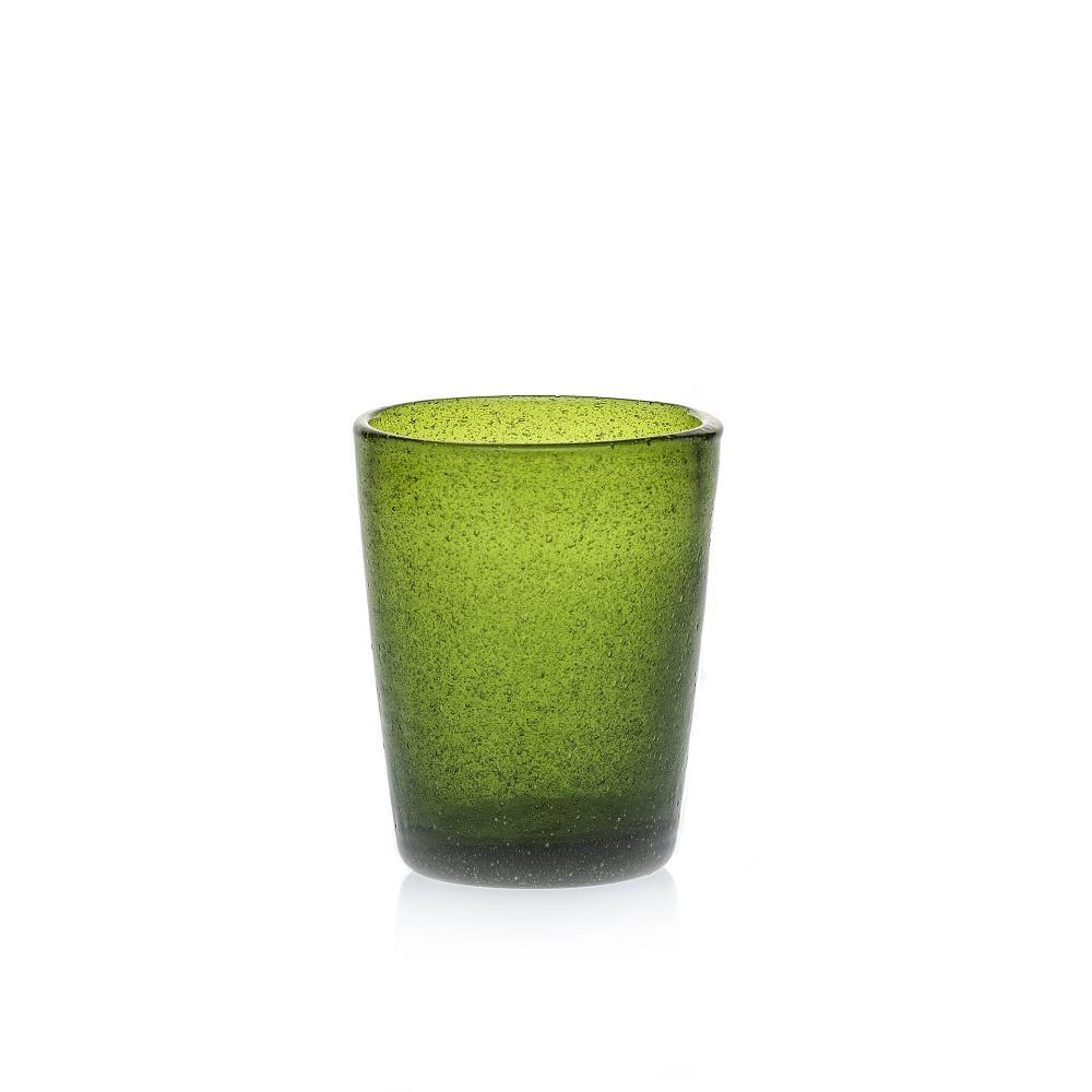 Wasserglas Trinkglas Saftglas Marco Polo Fairtrade Ecoglas 250ml grün