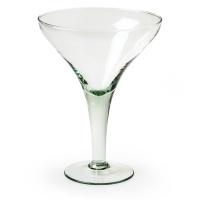 "Schale Servierchale Pokal Eisbecher ""Mart""  22cm recycling Glas eco Glas"