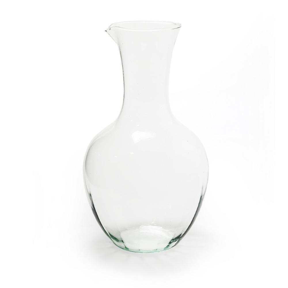 "Karaffe Krug Vase Glaskrug ""Eva"" 27cm recycling Glas eco Glas"