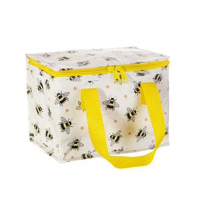 """Isolierte Snacktasche Kühltasche aus recycelten Plastikflaschen """"BUSY BEES"""""""